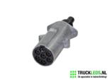 7-Polige-trailer-stekker-aluminium-vrouwlijk-24v