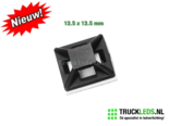 Plakvoetje-125-x125mm-zwart-50st