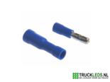 Kabelschoen-blauw-kogelkop