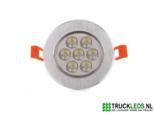 7-Watt-LED-inbouwspot