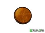 Verlichte-ronde-LED-reflector-oranje