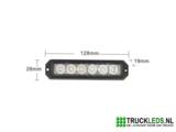 Slim-line LED flitser 18W._