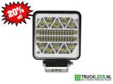 LED werklamp 62 Watt vierkant._