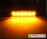 Markeer/sier LED oranje 12V._