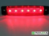 Markeer/sier LED rood 12V._