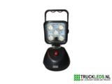Draagbare LED werklamp met batterij_