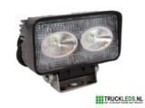 LED werklamp 20 Watt rechthoek_