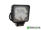 LED werklamp 27 Watt vierkant_