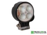 LED werklamp 12 Watt rond_