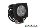 LED werklamp 12 Watt vierkant_
