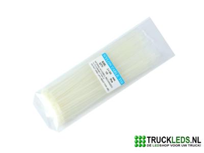 Kabelbinder 2.5x 200 wit