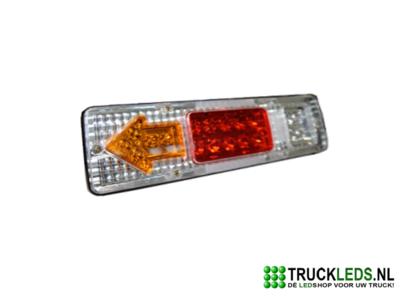 LED Aanhanger achterlicht wit 24V.
