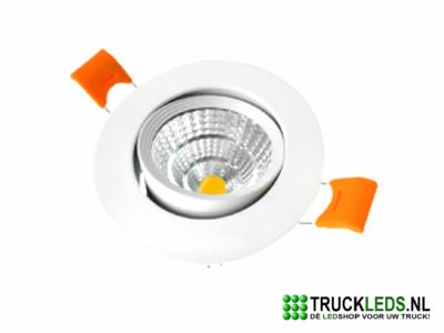 3W LED spot dimbaar wit.