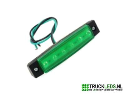 Markeer/sier LED groen 24V.