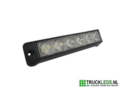 LED werklamp 18 Watt plat