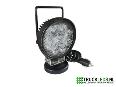 Draagbare LED werklamp 27W
