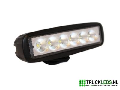 LED werklamp 18 Watt rechthoek