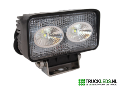 LED werklamp 20 Watt rechthoek