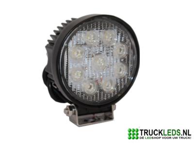 LED werklamp 27 Watt rond.
