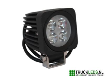 LED werklamp 12 Watt vierkant