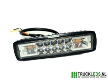 16W-LED-werklamp-met-oranje-Led-flitser