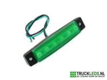Markeer-sier-LED-groen-12V