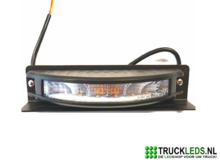 Oranje-LED-flitser-180°-6W