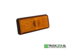 Verlichte-LED-reflector-oranje